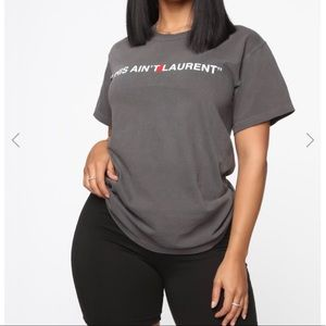 Fashion Nova Tops - Fashion nova graphic tee